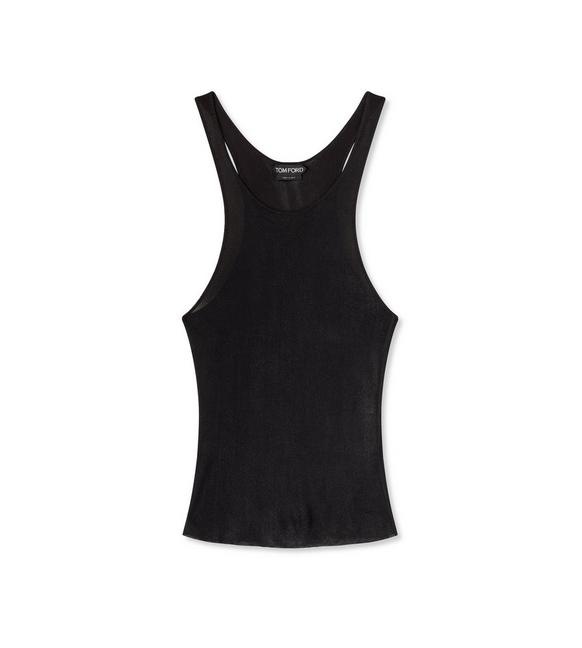 Tom Ford GLOSSY VISCOSE TANK TOP