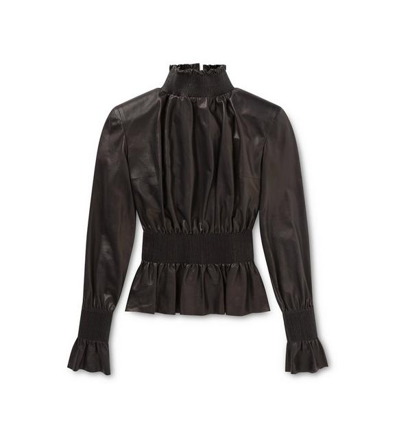 LEATHER VICTORIAN TOP A fullsize