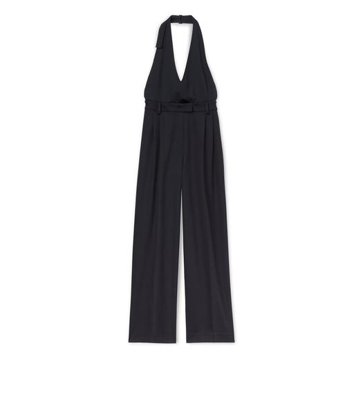 LIGHTWEIGHT WOOL JUMPSUIT