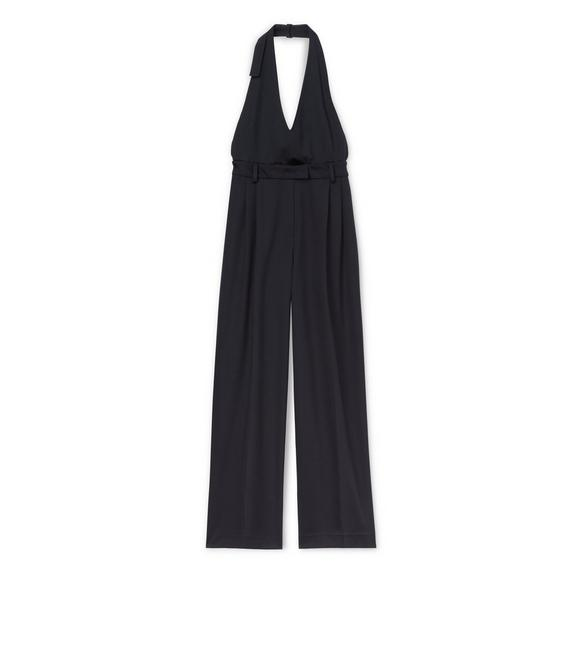 LIGHTWEIGHT WOOL JUMPSUIT A fullsize