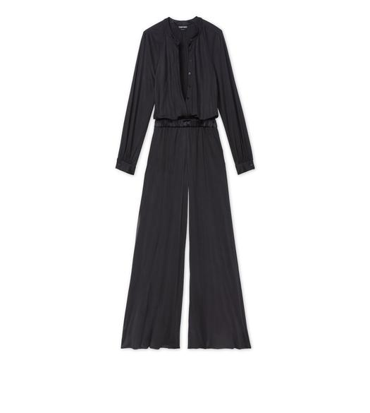 VISCOSE SILK JERSEY JUMPSUIT