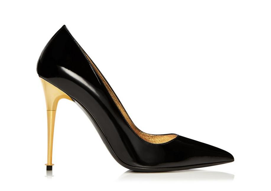 PATENT LEATHER PUMP A fullsize