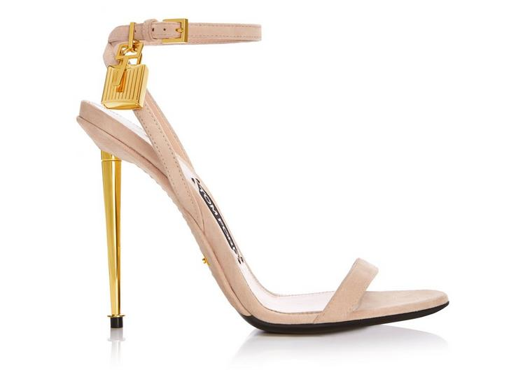 STRAPPY SANDAL WITH SPIKE HEEL A fullsize