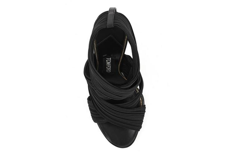 PLEATED WRAP SANDAL C fullsize