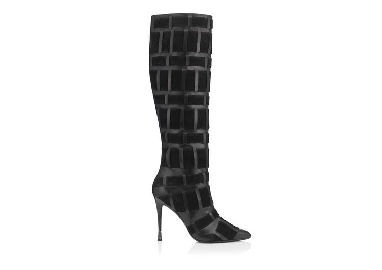 PURE LINE WEAVE TALL BOOT A fullsize