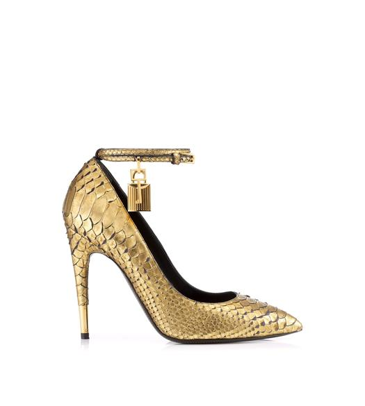 Python Pump with Ankle Strap and Lock