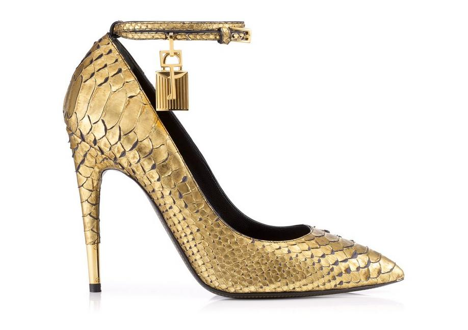 Python Pump with Ankle Strap and Lock A fullsize