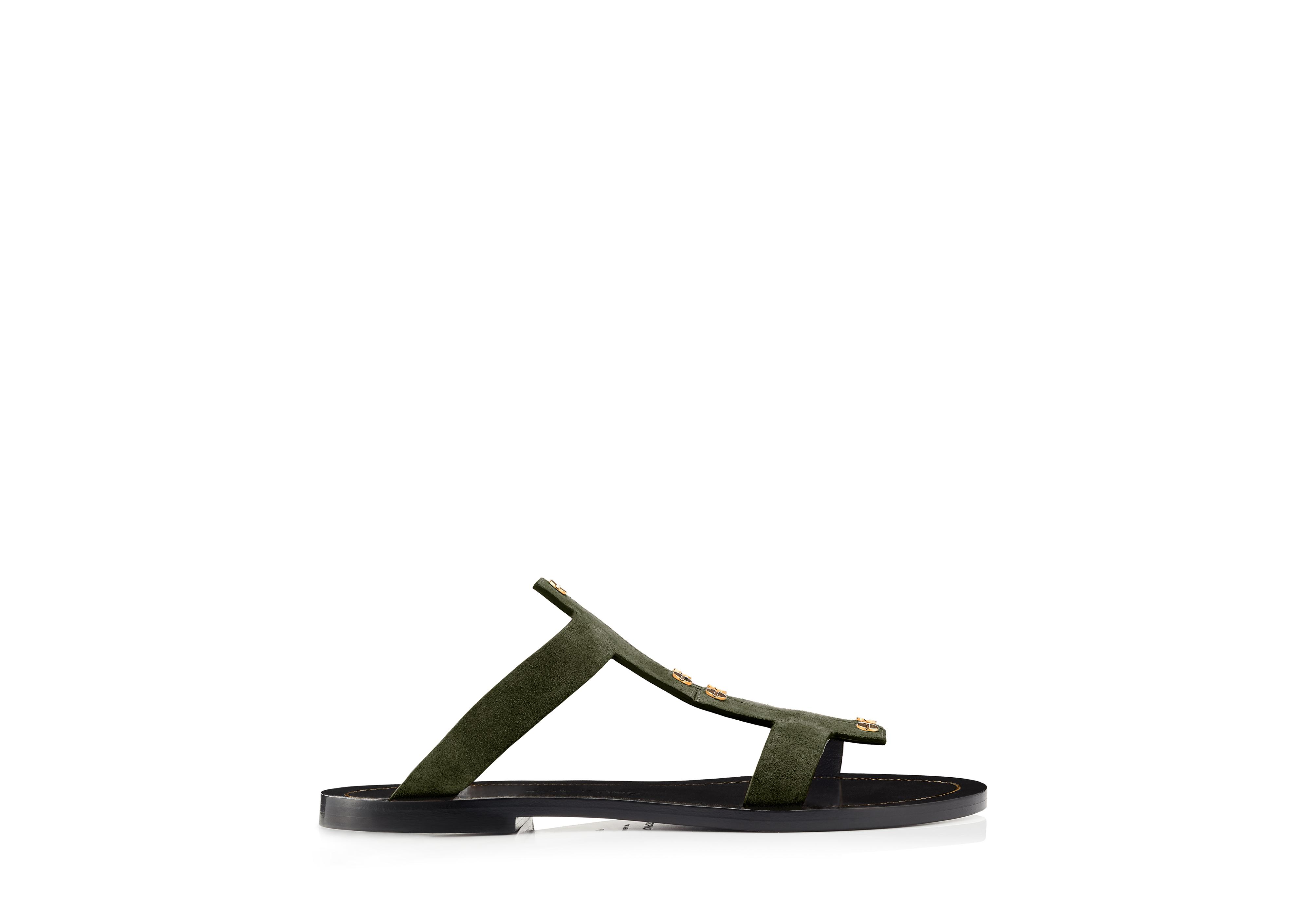 T SCREW FLAT SANDAL A thumbnail