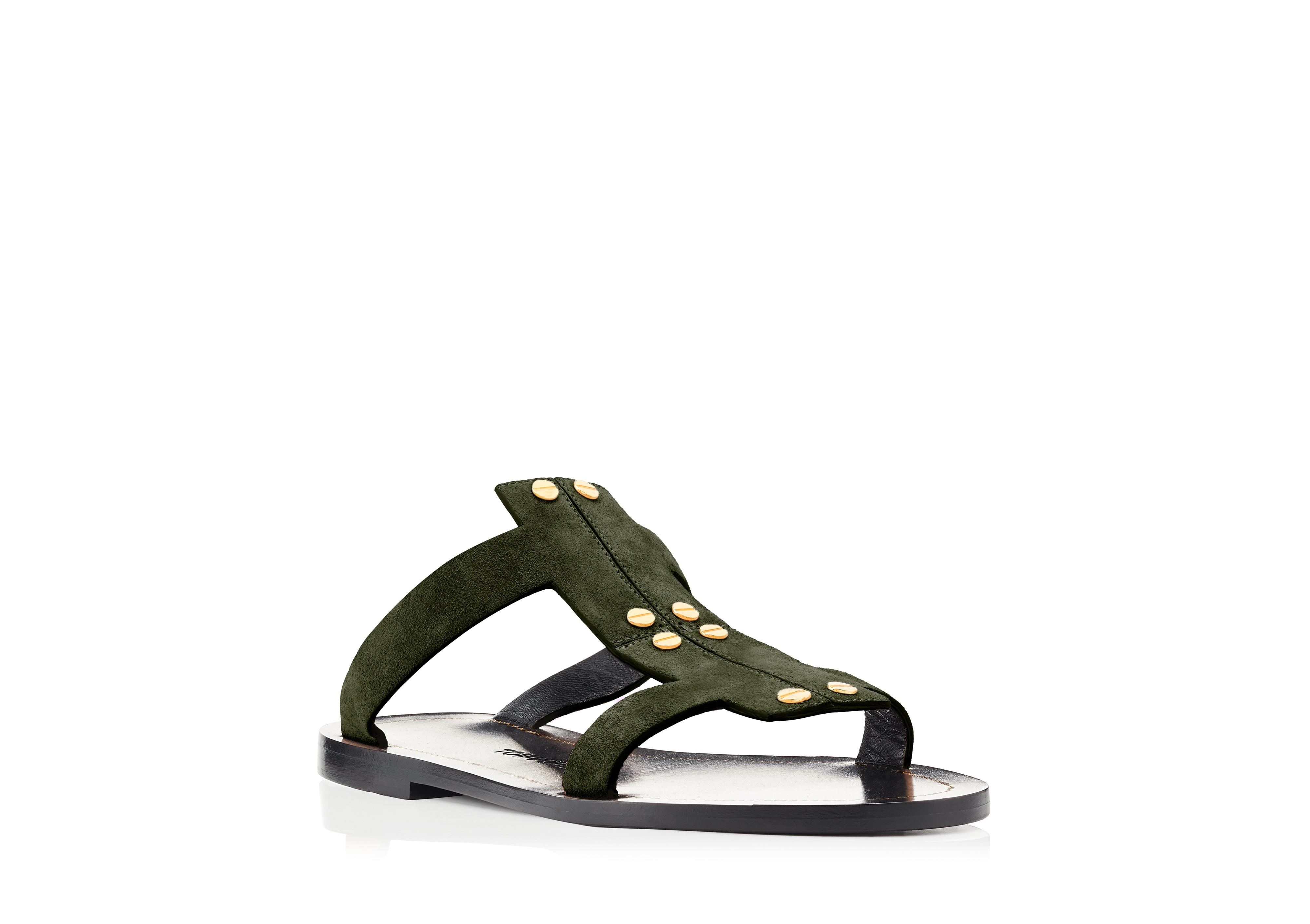 T SCREW FLAT SANDAL B thumbnail