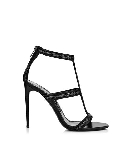 ZIP CAGE SANDAL