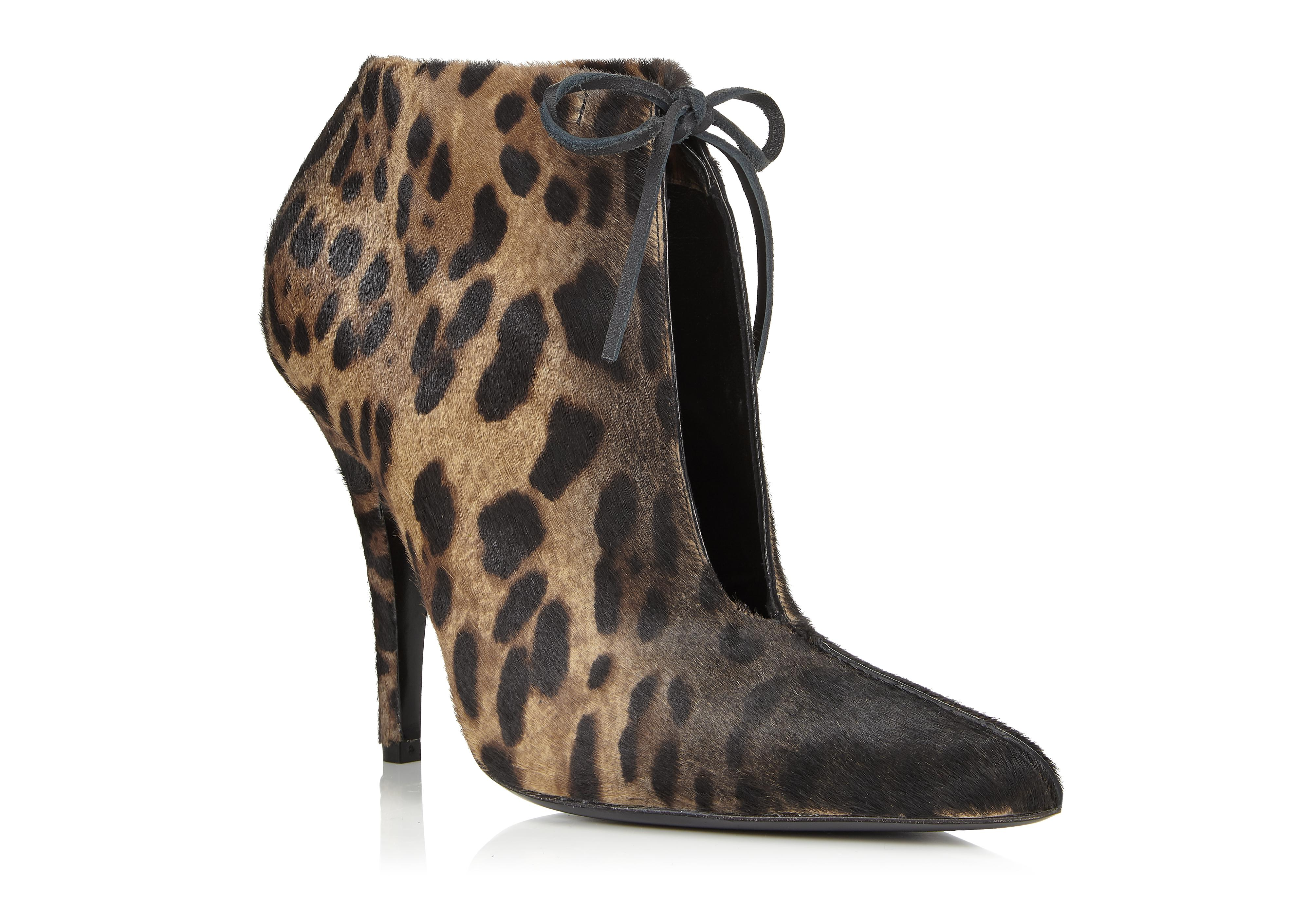 JAGUAR PONY ELLIPSE ANKLE BOOT B thumbnail