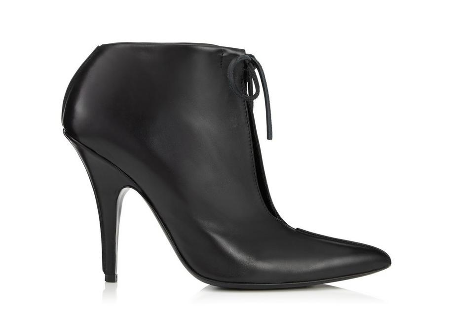 LEATHER ELLIPSE ANKLE BOOT A fullsize