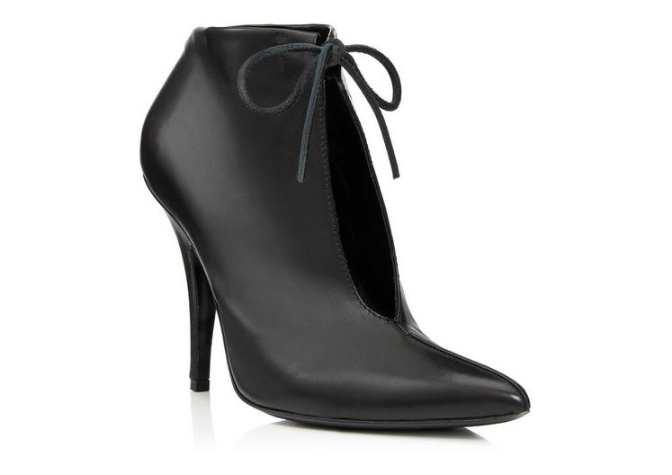 LEATHER ELLIPSE ANKLE BOOT B fullsize