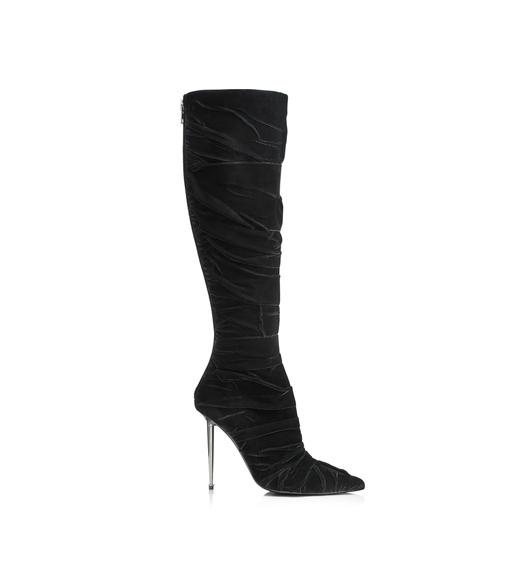 VELVET SOFT WRAP KNEE HIGH BOOT