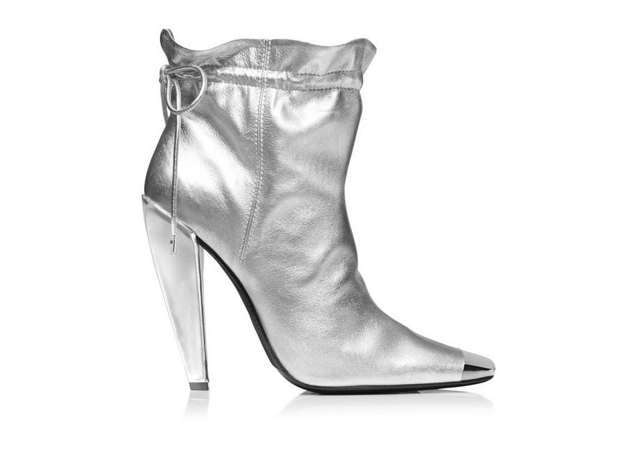 METALLIC COULISSE ANKLE BOOT A fullsize