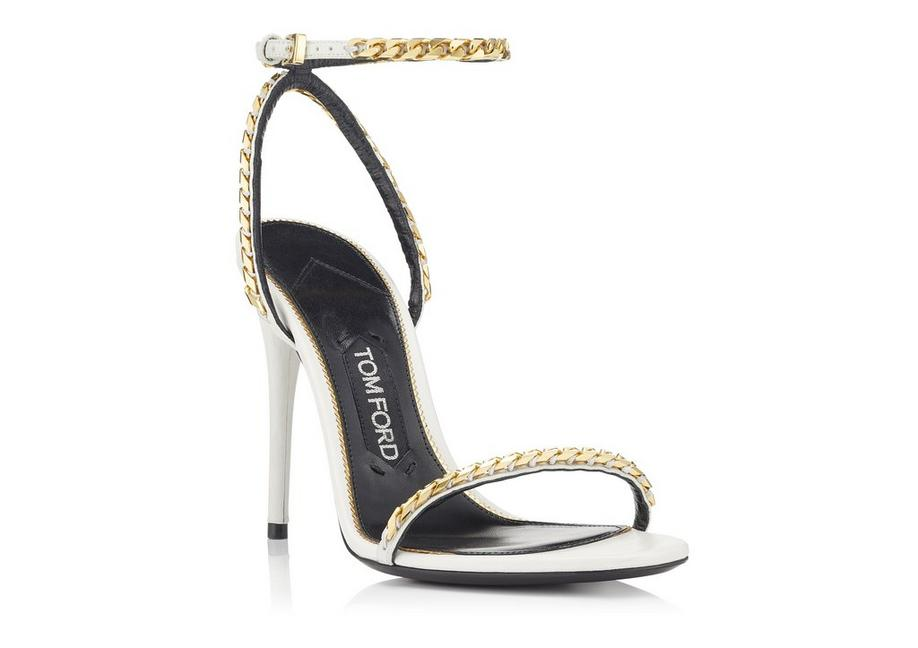 Tom Ford chain strap sandals