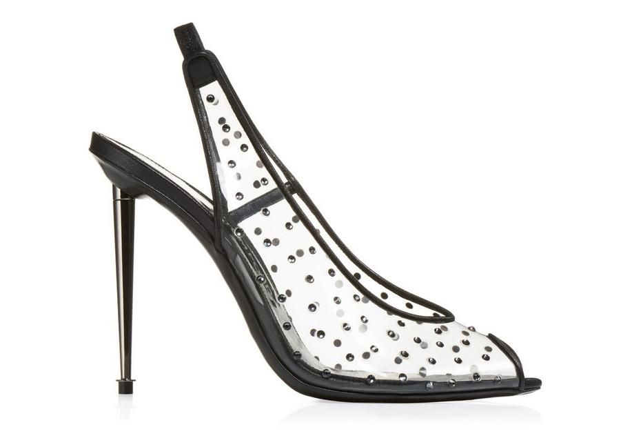 crystal embellished pumps - Black Tom Ford
