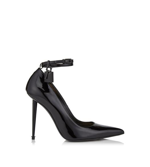 LACQUERED PATENT PADLOCK PUMP