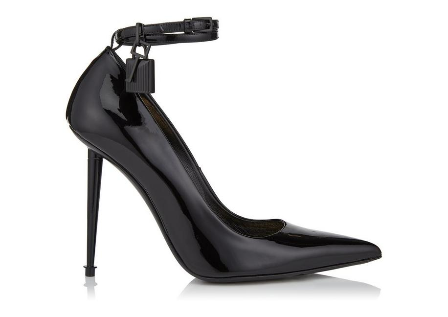 LACQUERED PATENT PADLOCK PUMP A fullsize