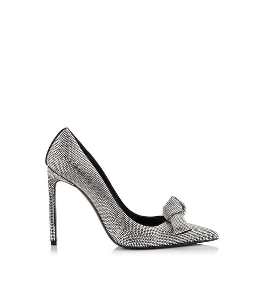 Tom Ford Embroidered Bow Pumps Cheap Sale Pick A Best i67CdmGyUH
