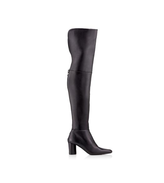 ZIP OVER THE KNEE BOOT