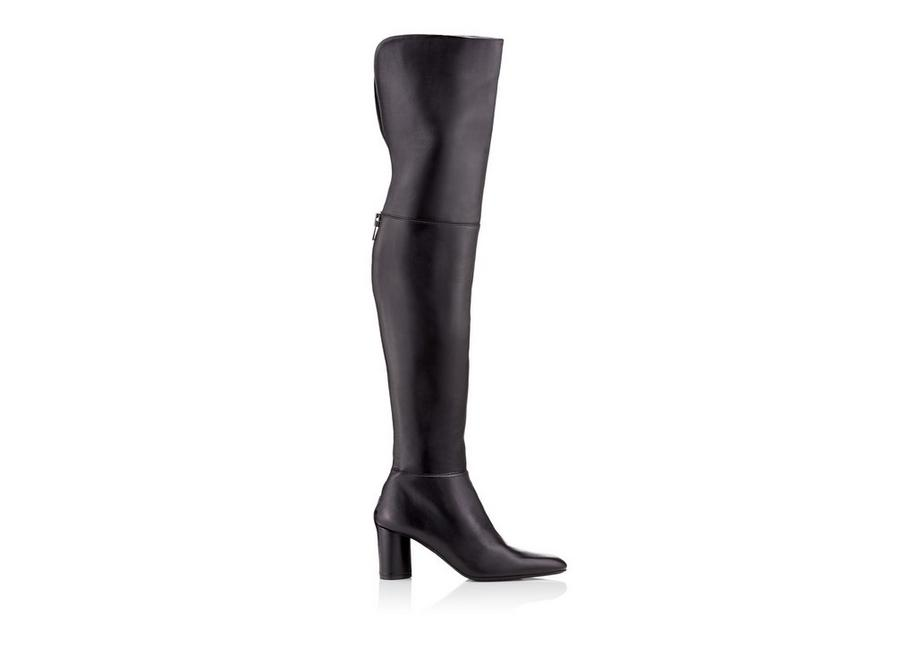 ZIP OVER THE KNEE BOOT A fullsize