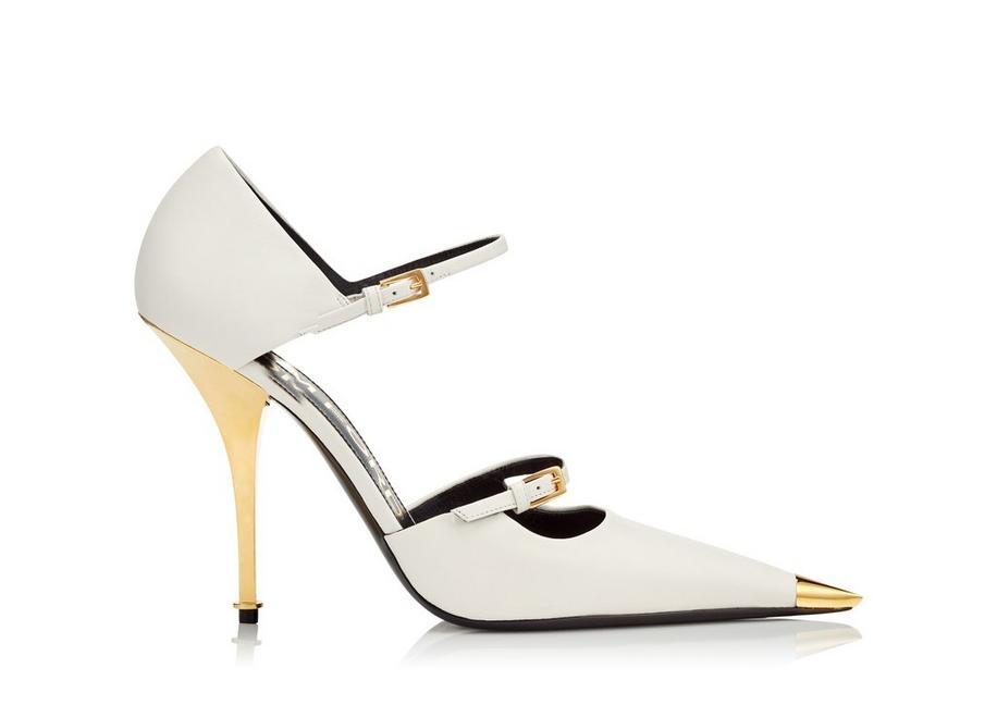 LEATHER MARY JANE PUMP A fullsize