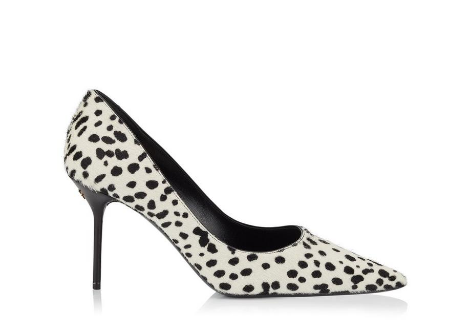 DOTTED PONY HAIR CLASSIC PUMP A fullsize