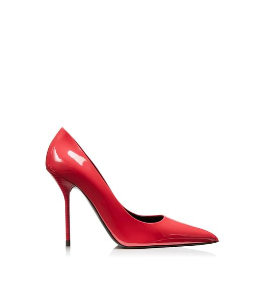 PATENT LEATHER CLASSIC PUMP 105MM
