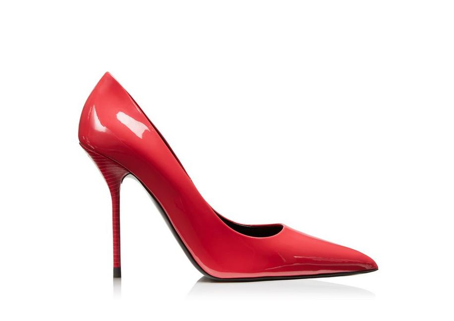 PATENT LEATHER CLASSIC PUMP 105MM A fullsize