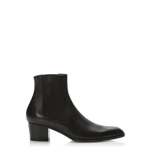 LEATHER TF ANKLE BOOT