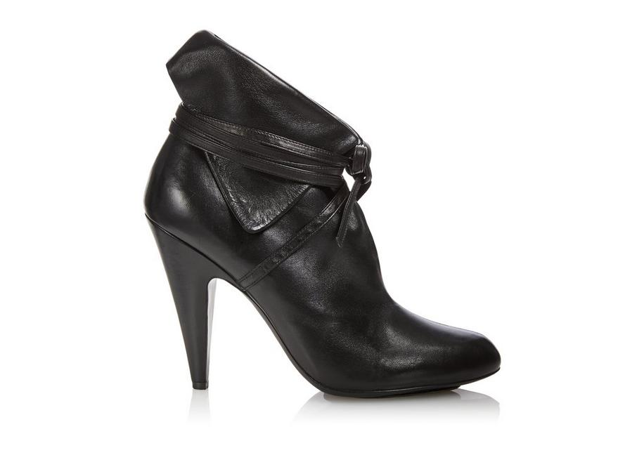 NAPPA LEATHER WRAP BOOTIE A fullsize