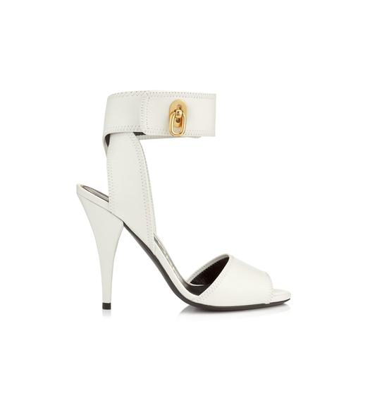 NAPPA LEATHER SANDAL 105 MM