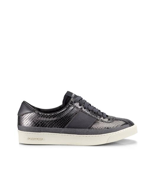 LEATHER  BANNISTER LOW TOP SNEAKERS