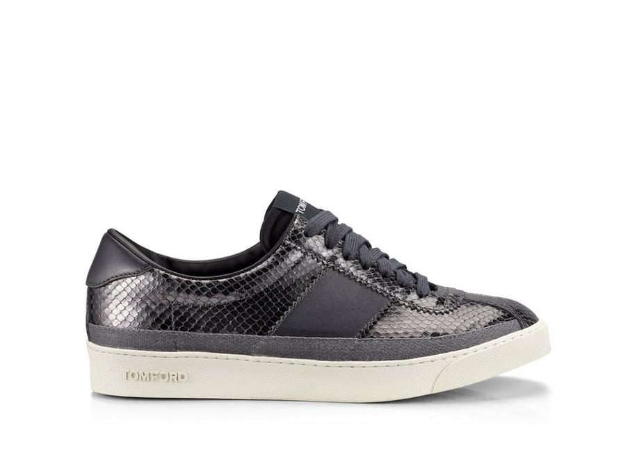 LEATHER  BANNISTER LOW TOP SNEAKERS A fullsize