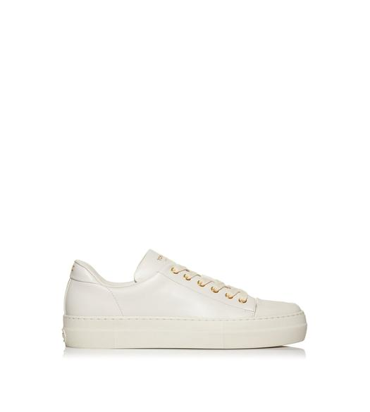 SMOOTH LEATHER CITY LOW TOP SNEAKERS
