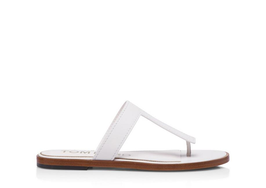 LEATHER TF THONG SANDAL A fullsize