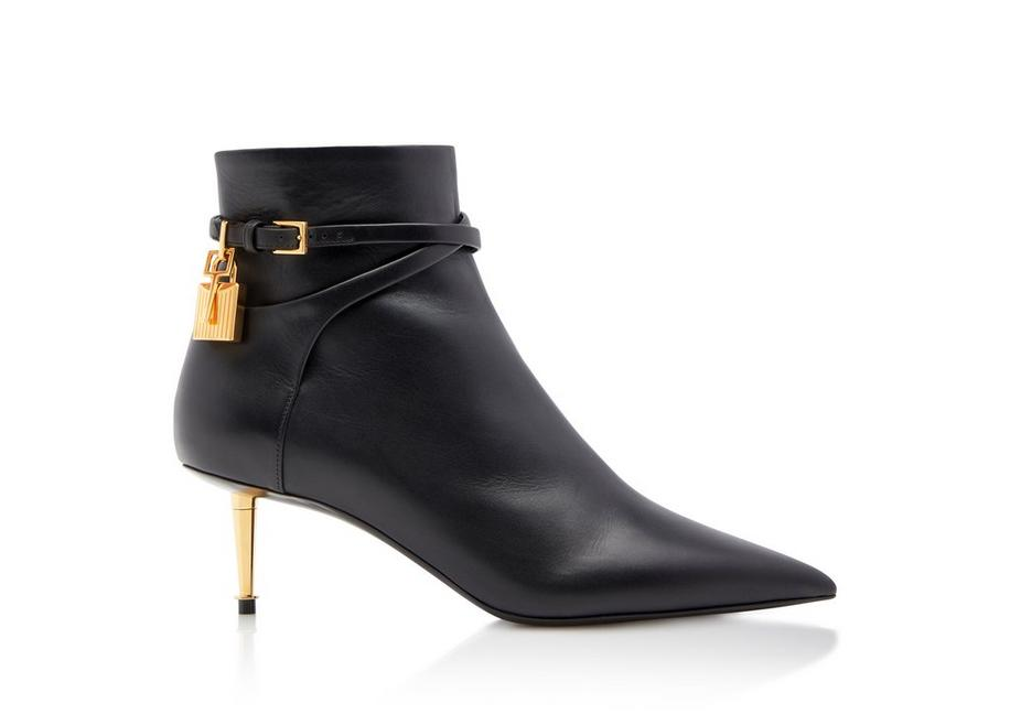 LEATHER PADLOCK ANKLE BOOT A fullsize