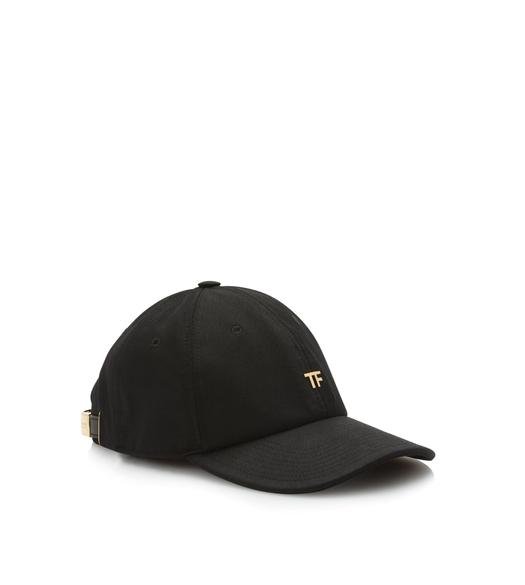 COTTON CANVAS TF BASEBALL CAP