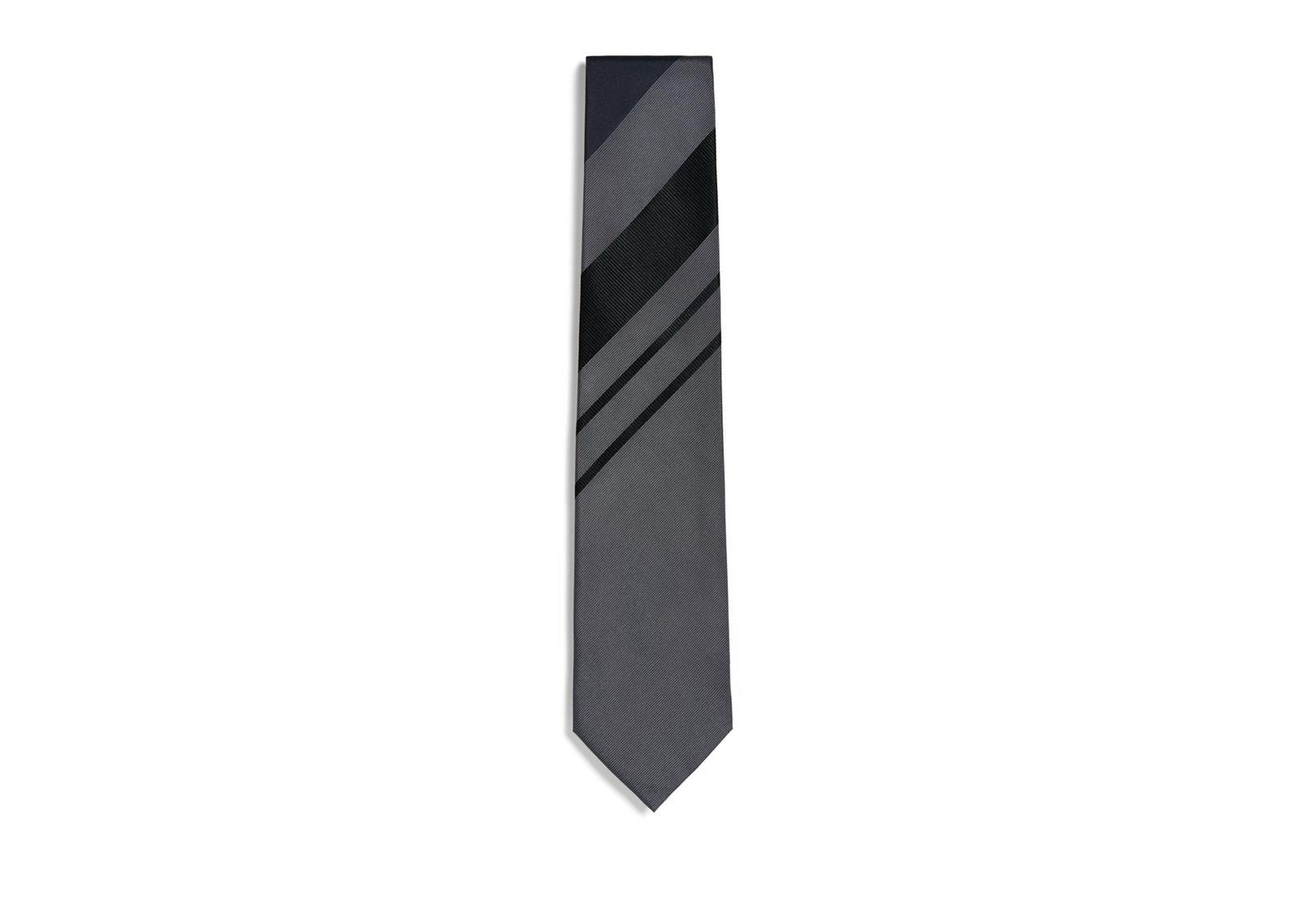RETRO WIDE STRIPE TIE A thumbnail