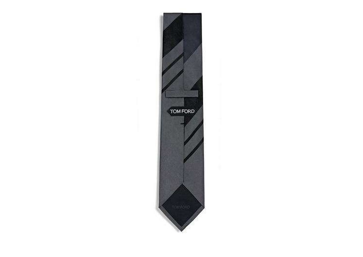 RETRO WIDE STRIPE TIE B fullsize