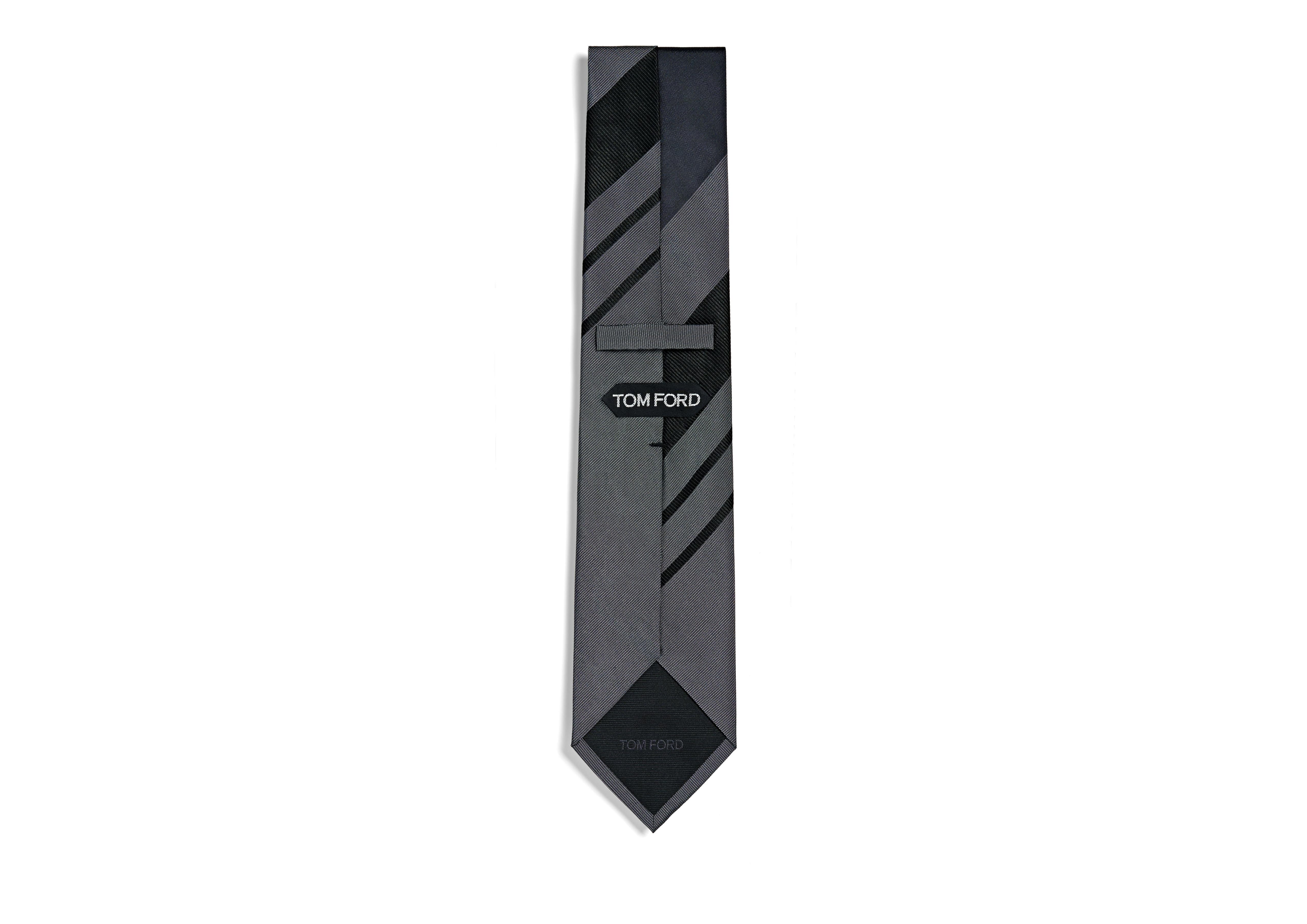 RETRO WIDE STRIPE TIE B thumbnail