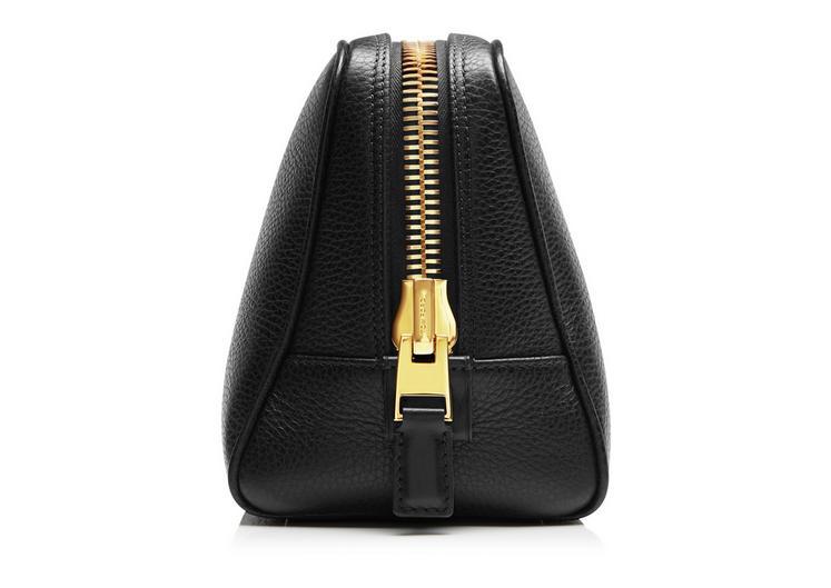 Leather Single Zip Toiletry Case B fullsize