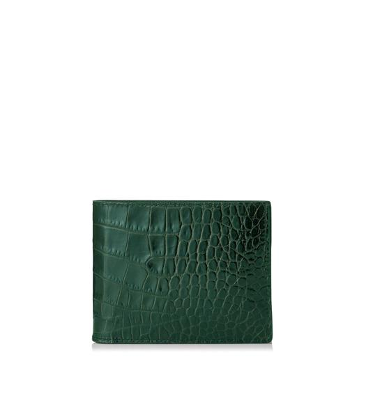 CLASSIC ALLIGATOR BIFOLD WALLET