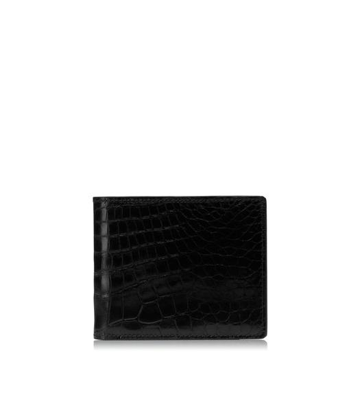 BIFOLD ALLIGATOR WALLET