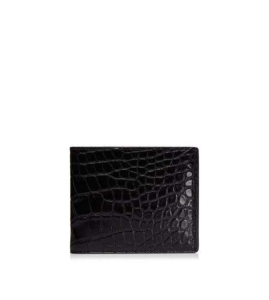 Shiny Alligator Bifold Wallet