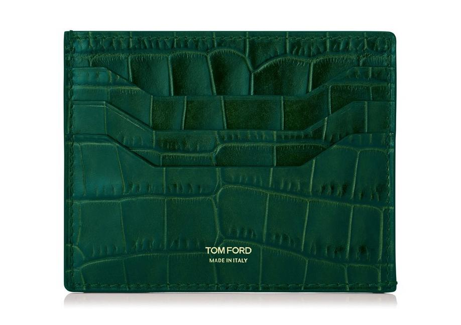 ALLIGATOR CREDIT CARD HOLDER A fullsize