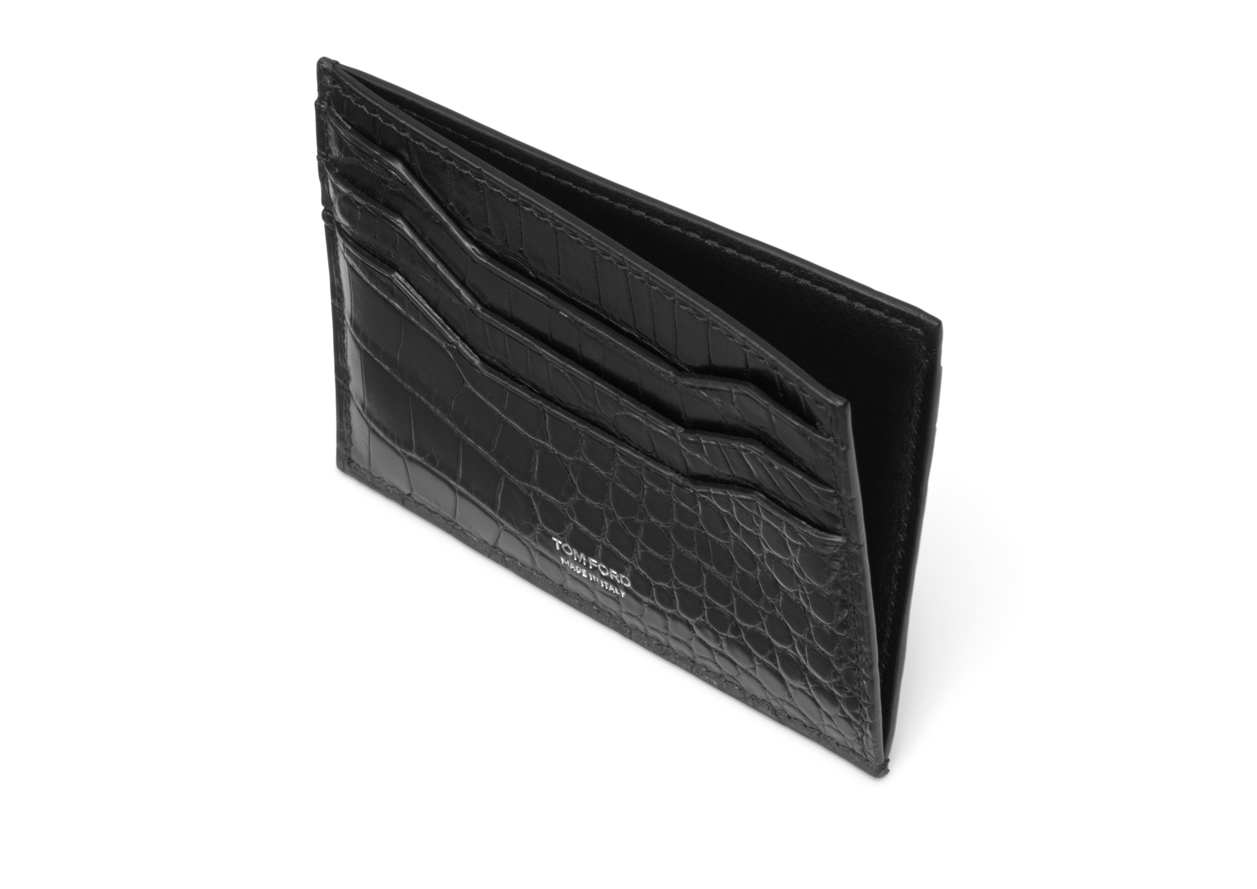 CREDIT CARD HOLDER WITH OPEN MIDDLE POCKET B thumbnail