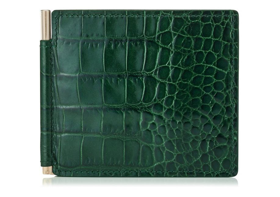 MONEY CLIP ALLIGATOR WALLET A fullsize