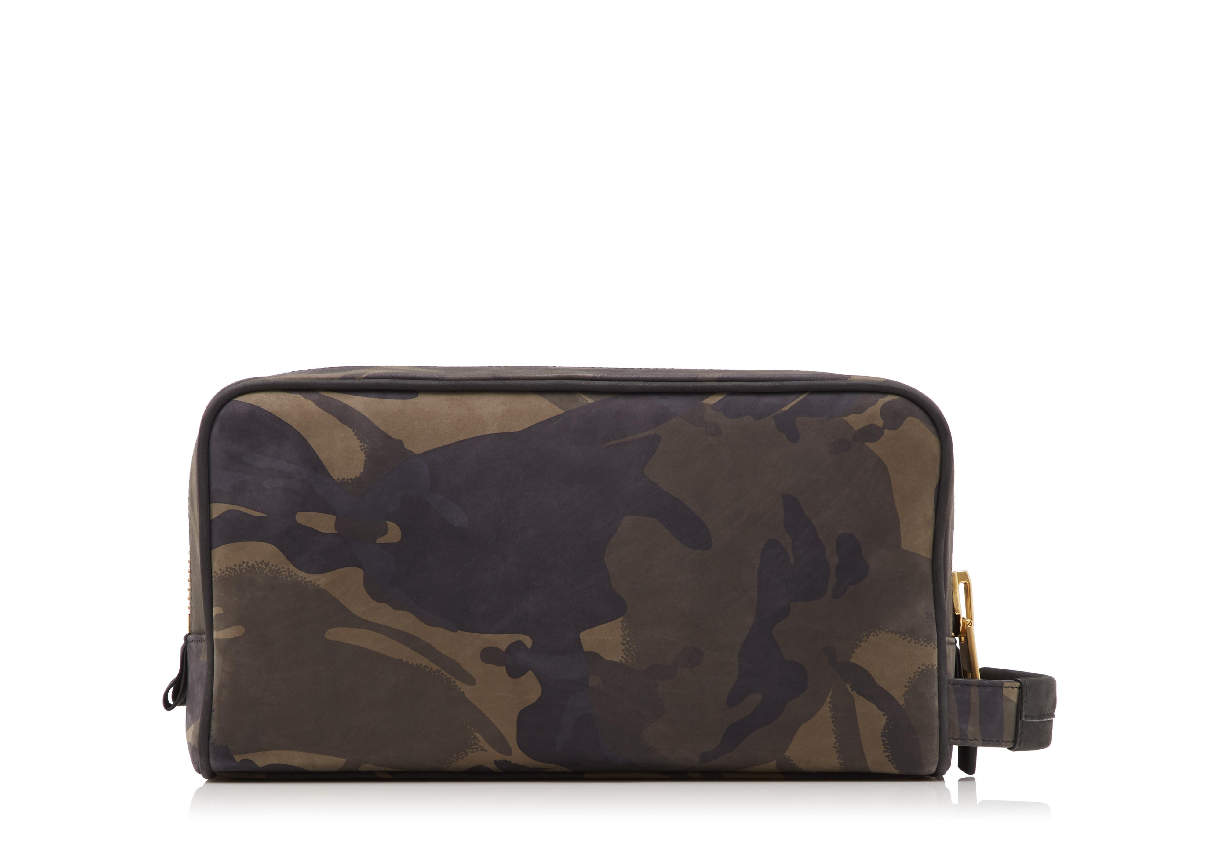 CAMOUFLAGE DOUBLE ZIP DOPP KIT C thumbnail